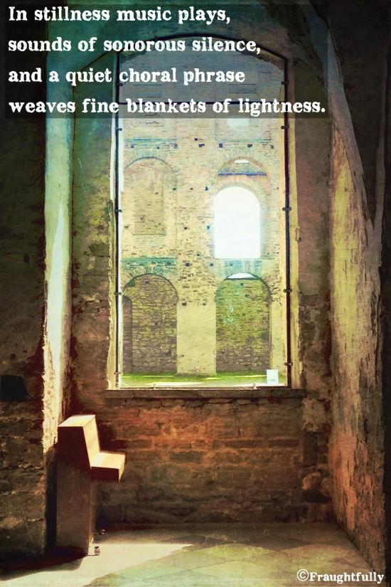 Fine blankets of lightness